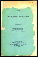 The African's right to citizenship.