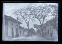 Street in Agna de Dios Leper Colony.