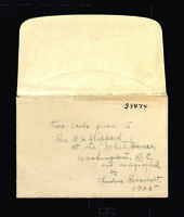 Correspondence to William H. Sheppard, 1905-1927.