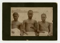 Three boys with hands cut off.