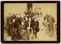 Photograph of West Persia Mission members, ca. 1890-1900.