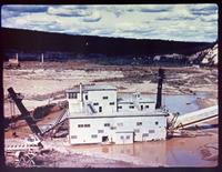Our Last Frontier -- Gold Mining Dredge.