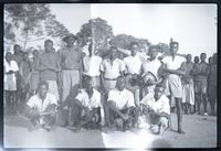 Group of men posed for photo.
