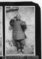 Chinese woman with bound feet.