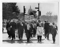 Clergy Lead Civil Rights Washington March.