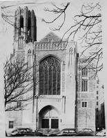 Front of Second Presbyterian Church, Newark, N.J.