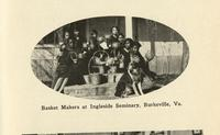 Basket makers at Ingleside Seminary.