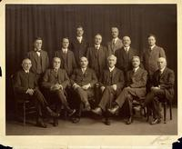Portrait of members of PCUSA General Assembly Committee on Arrangements, 1919.