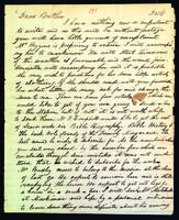 Letter to Daniel Wells from Peter Dougherty, August 11, 1846.
