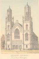 Calvary Presbyterian Church building.